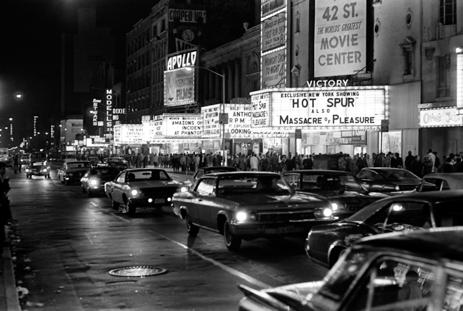 42nd Street theaters in the 1960s