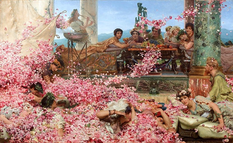 Alma, Tadema, and Heliogabalus