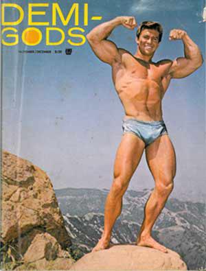 Vintage physique magazine, Demi-Gods