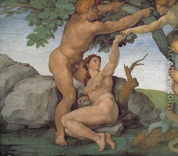 Adam and Eve, Sistene Chapel Ceiling