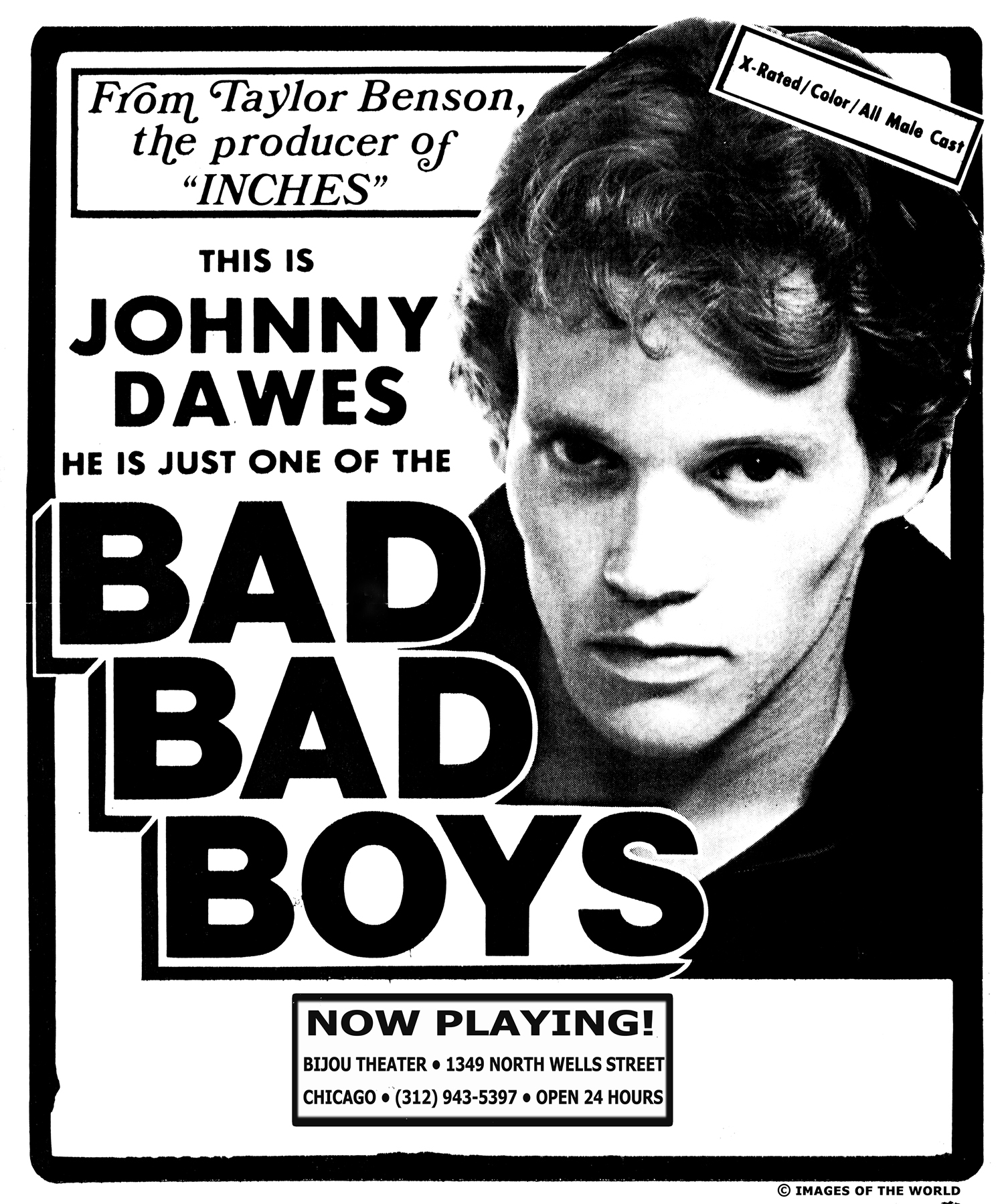 Poster for Bad Bad Boys