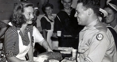 Bette Davis in Hollywood Canteen