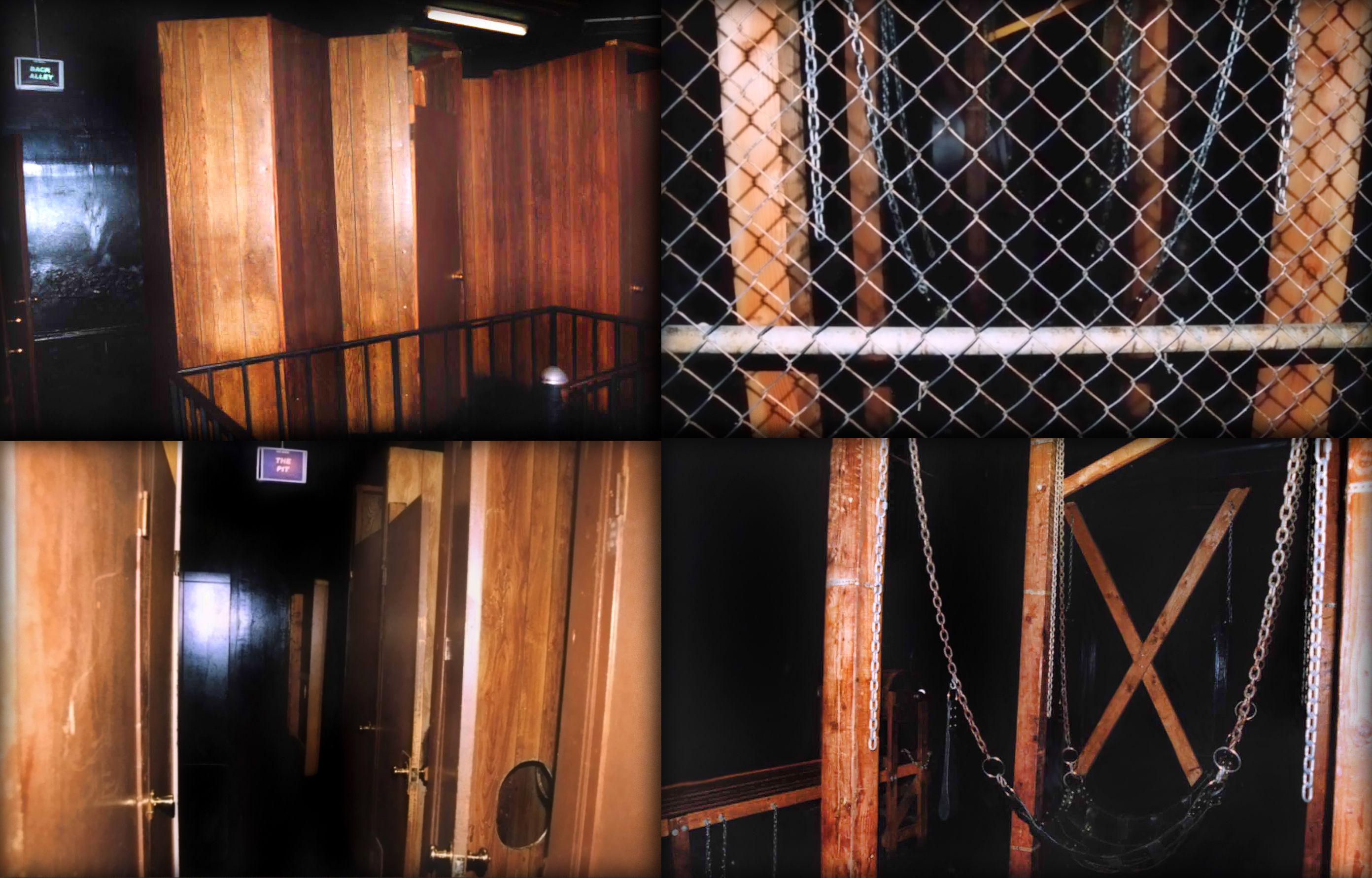 Bijou Theater upstairs maze and dungeon