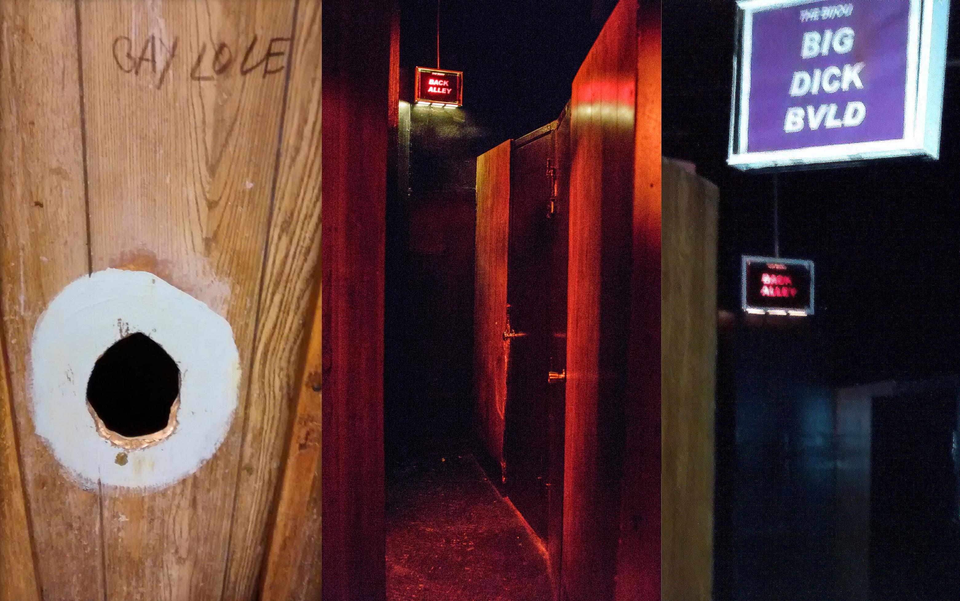 Bijou Theater upstairs glory holes
