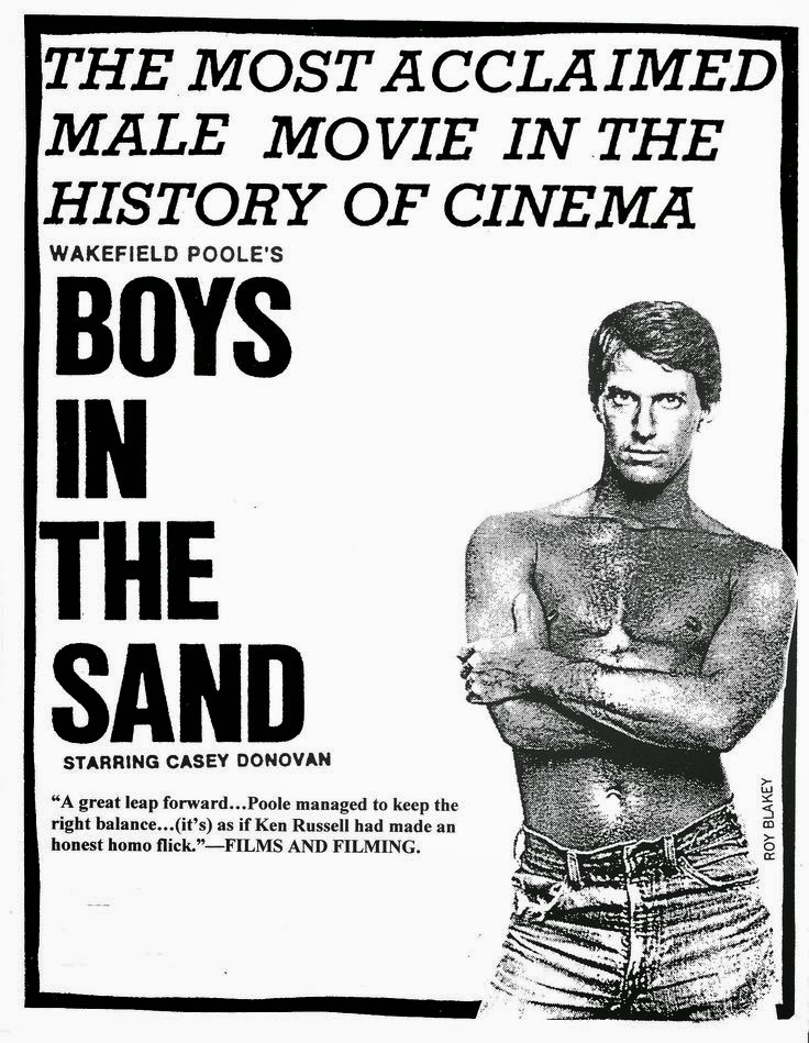 Boys in the Sand poster