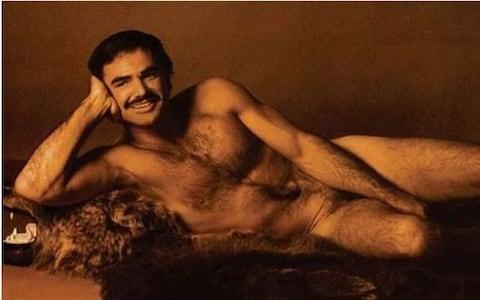 Burt Reynolds in Cosmopolitan