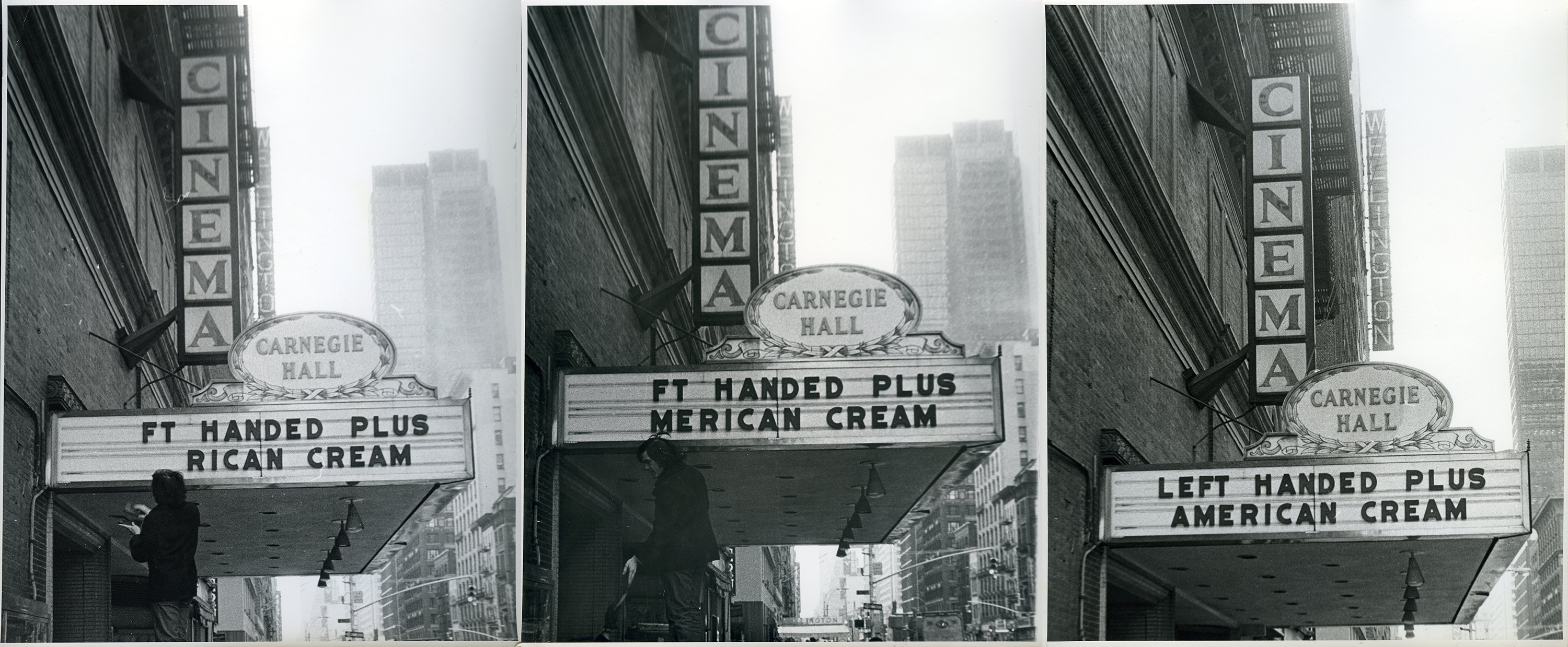 The Carnegie Hall Cinema preparing to premiere American Cream & Left-Handed