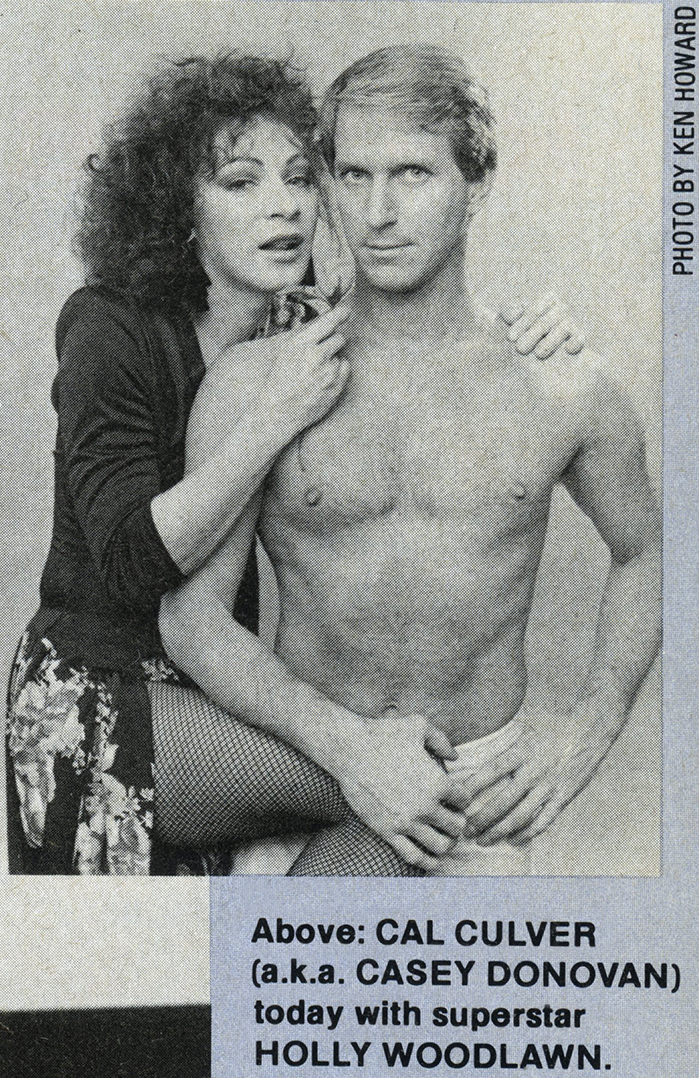 Holly Woodlawn and Cal