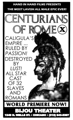 Original poster for Centurians of Rome