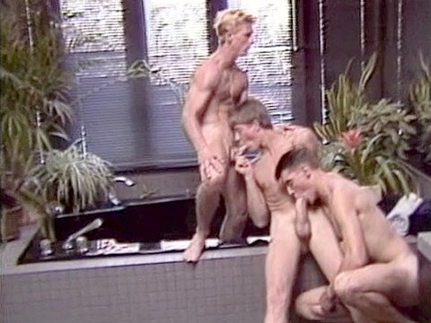Chris Allen sex scene from Coverboy