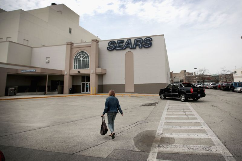Sears department store exterior