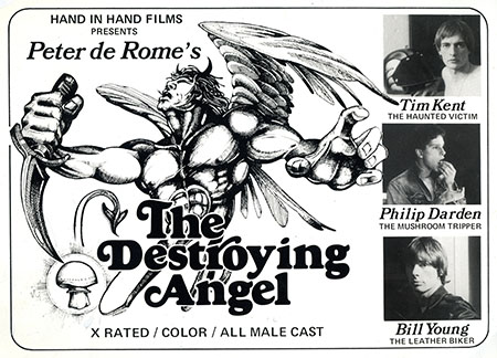 The Backstory of Peter de Rome's The Destroying Angel