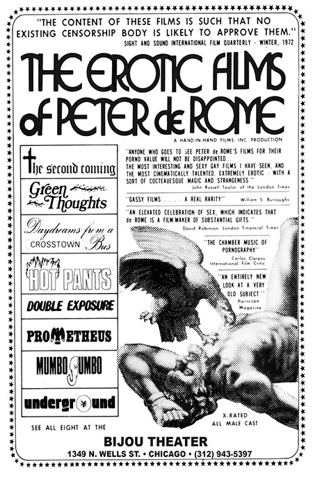 The Erotic Films of Peter de Rome poster