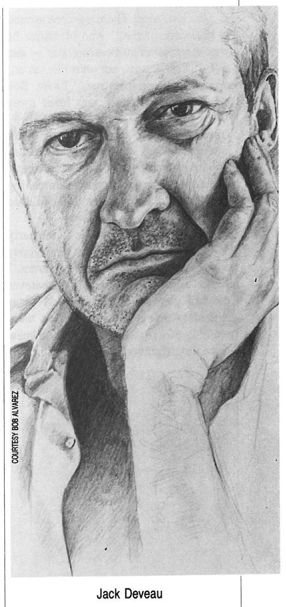 Jack Deveau illustrated portrait