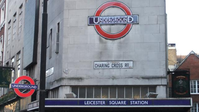 Leicester Square Underground stop