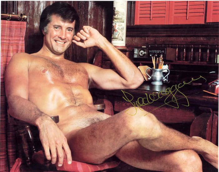 Lyle Waggoner in a later issue of Playgirl