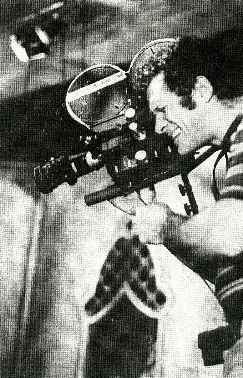 Jack Deveau filming