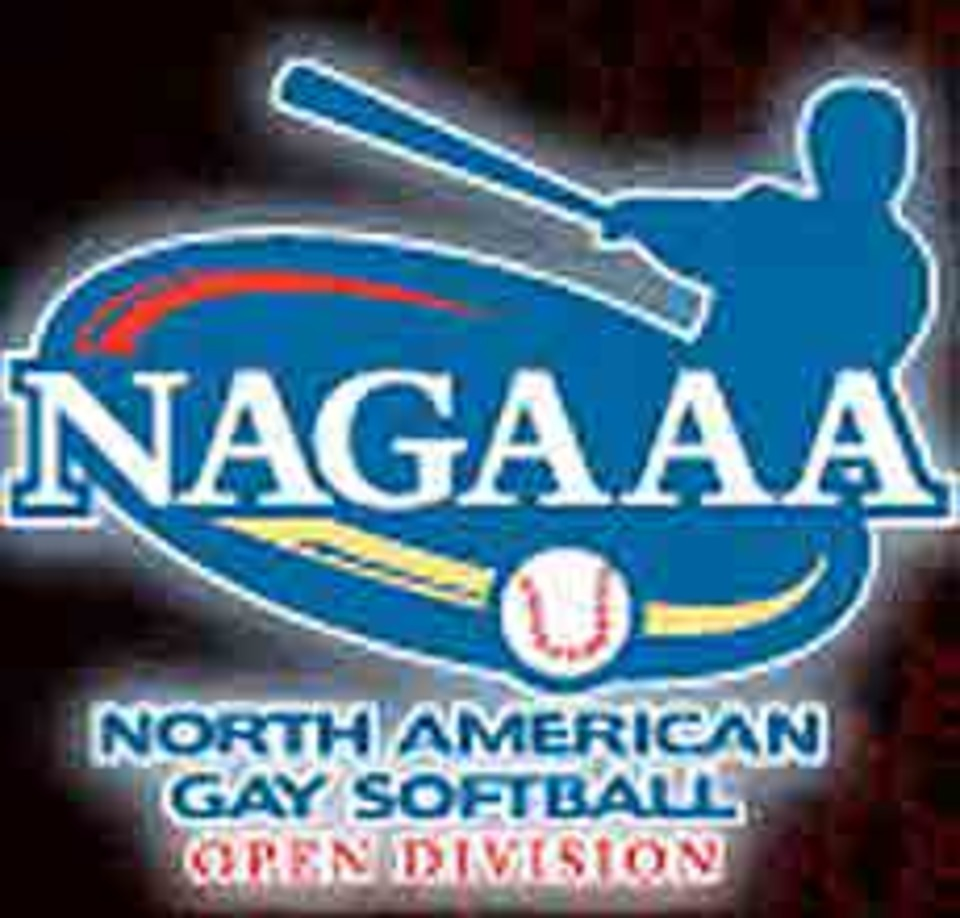 NAGAAA North American Gay Softball Division logo