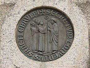 Ordericus Vitalis medallion