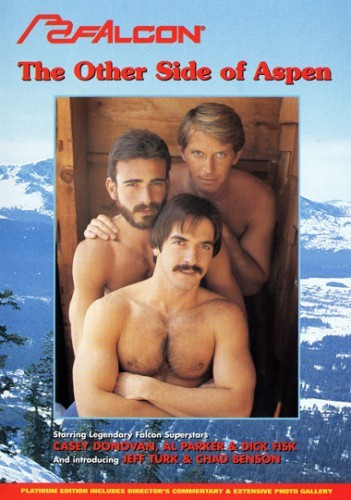 Dick Fisk, Al Parker and Casey Donovan on the cover for The Other Side of Aspen
