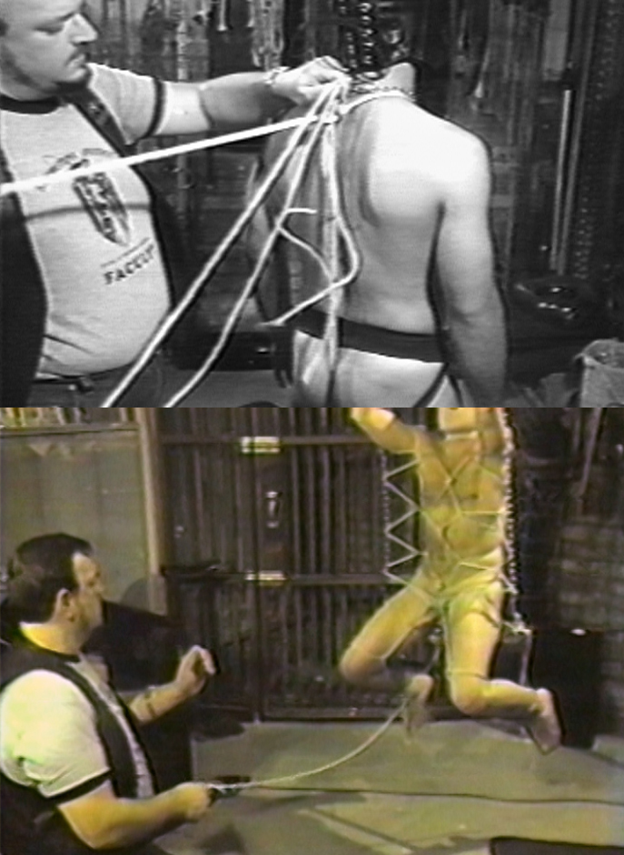 Tony DeBlase aka Fledermaus in Rope That Works (1984)
