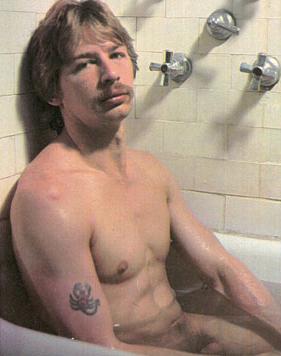 Scorpio in bathtub