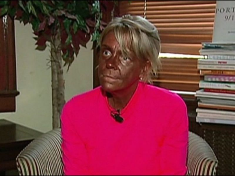 The tanning mom
