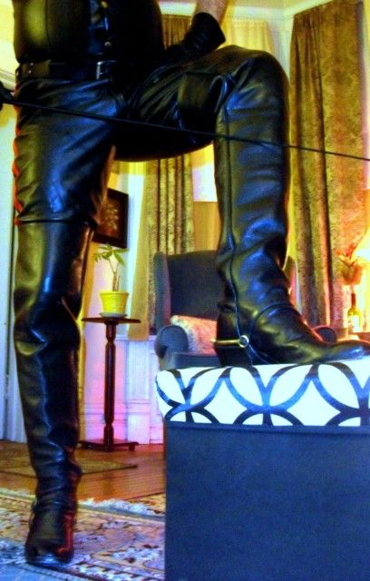 Thigh high Champion Attitude boots