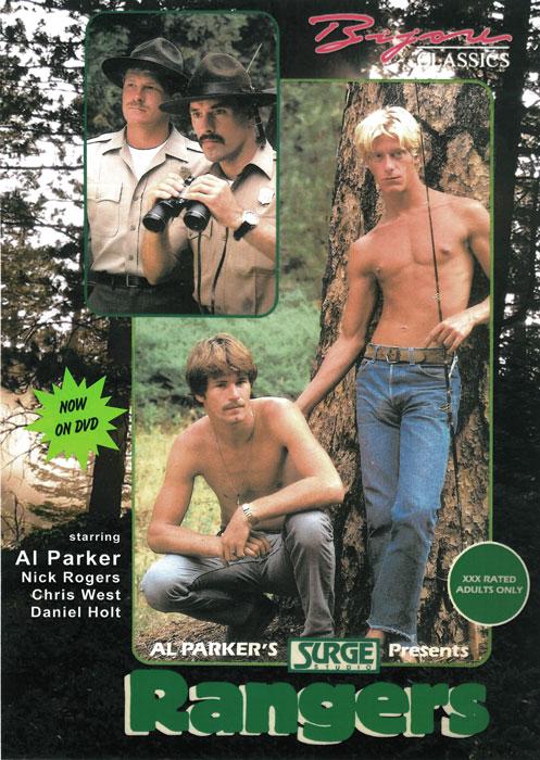 Old Bijou Video DVD cover art for Rangers