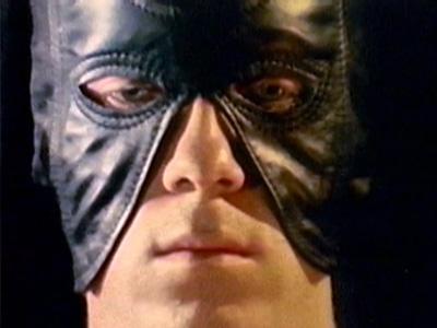 Still from Falconhead of masked man