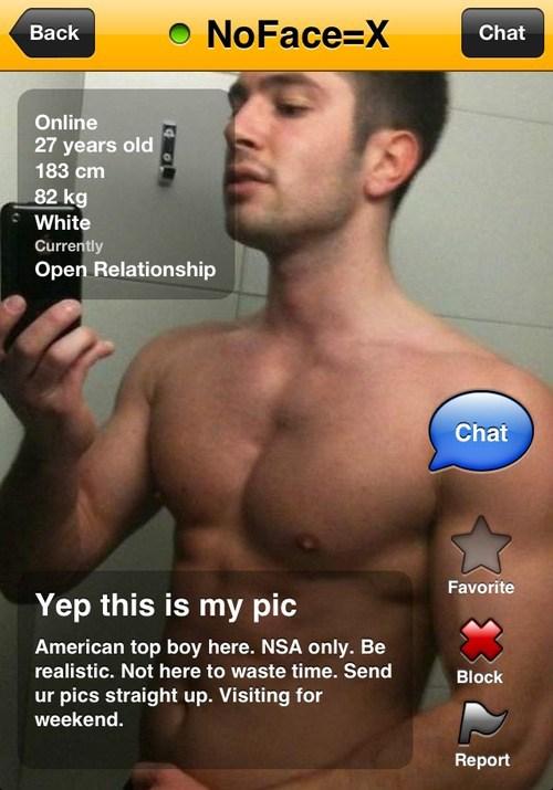 Grindr profile image